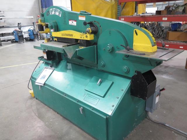"""2010 Piranha P-90 90-Ton Iron Worker s/m P90-2012 w/ 1 1/8"""" thru 1"""" Punch Cap., 1"""" x 12"""" – ¾"""" x - Image 3 of 16"""