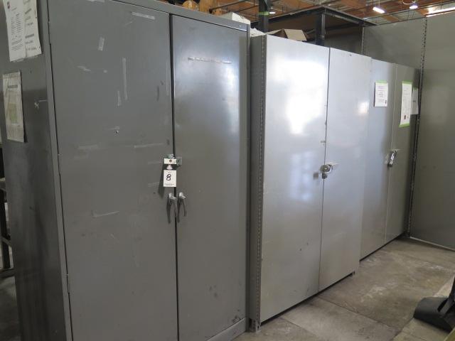 Lot 8 - Storage Cabinets (3)