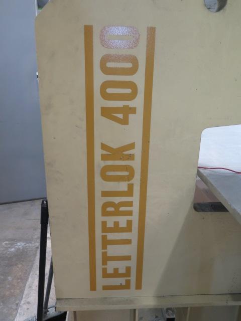 "Lot 13 - Chief Enterprises ""Letterlok 4000"" mdl. LL4000 Norlok Riveter s/n 07033 w/ 25"" Throat, Cap ."