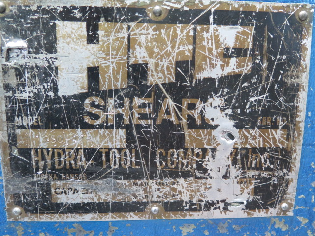 """Lot 20 - HTC 250-12A ¼""""/10GA x 12' Hydraulic Power Shear s/n A1274848 w/ Power Back Gage System, 52"""" Squaring"""