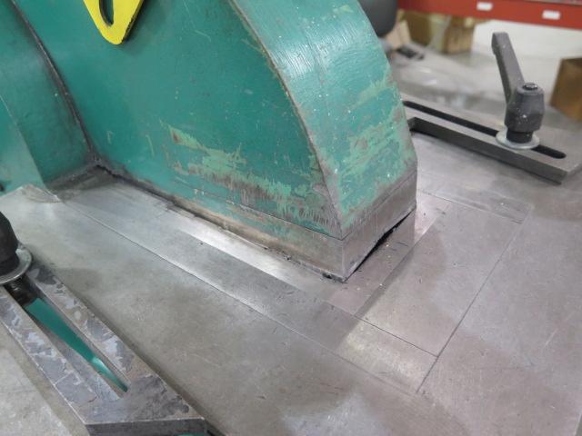 """2010 Piranha P-90 90-Ton Iron Worker s/m P90-2012 w/ 1 1/8"""" thru 1"""" Punch Cap., 1"""" x 12"""" – ¾"""" x - Image 12 of 16"""