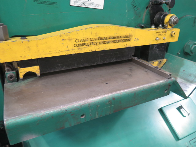"""2010 Piranha P-90 90-Ton Iron Worker s/m P90-2012 w/ 1 1/8"""" thru 1"""" Punch Cap., 1"""" x 12"""" – ¾"""" x - Image 10 of 16"""