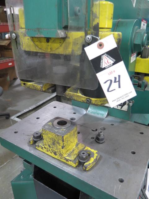 """2010 Piranha P-90 90-Ton Iron Worker s/m P90-2012 w/ 1 1/8"""" thru 1"""" Punch Cap., 1"""" x 12"""" – ¾"""" x - Image 8 of 16"""