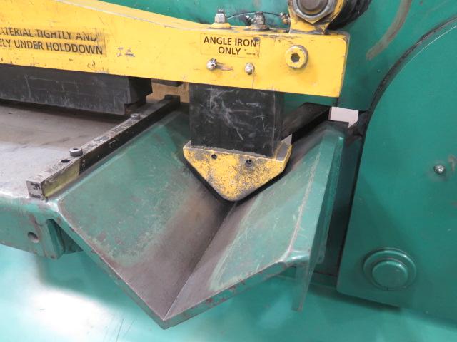 """2010 Piranha P-90 90-Ton Iron Worker s/m P90-2012 w/ 1 1/8"""" thru 1"""" Punch Cap., 1"""" x 12"""" – ¾"""" x - Image 11 of 16"""