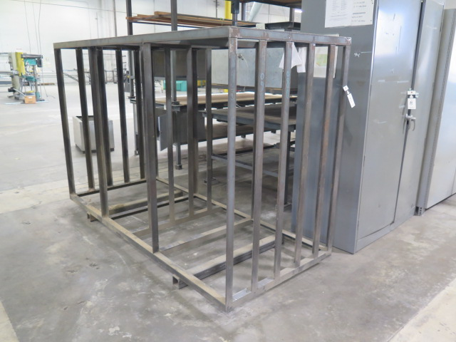 Lot 7 - Vertical Sheet Stock Rack