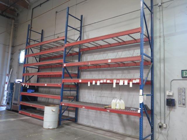Lot 17 - Pallet Racks (2 SECTIONS)
