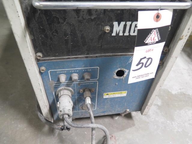 "Lot 50 - OTC Daiher ""MIG 135"" mdl. CPSS-135 MIG Welder w/ Spool Gun"