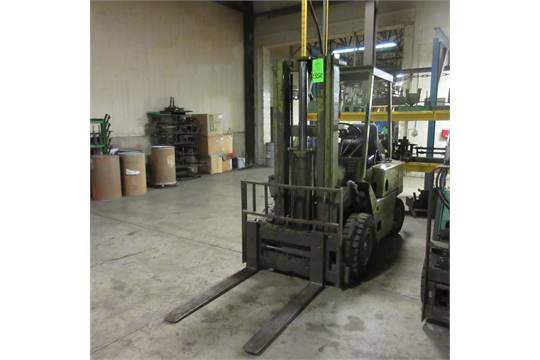 clark forklift serial number year model