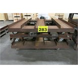 LOT OF HEAVY DUTY MACHINE MOVING DOLLIES