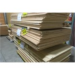 "LOT OF 40 SHEETS (APPROX.) OF 4' X 6 X 3/8"", PLYWOOD"