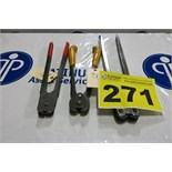 LOT OF STRAPPING TOOLS