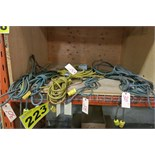 LOT OF 25' AND 30' EXTENSION CORDS