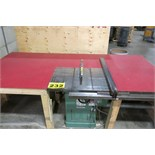 GENERAL, 350, TABLE SAW, S/N AD2714 WITH DUST COLLECTOR (RIGGING - $125)