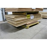"LOT OF 40 SHEETS (APPROX.) OF 38"" X 84"" X 3/8"", PLYWOOD"