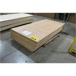 "LOT OF 23 SHEETS (APPROX.) OF 4' X 8' X 3/8"", PLYWOOD"