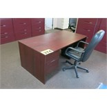 EXECUTIVE OFFICE DESK AND CAHIR
