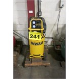 DEWALT, D55168-CA, 1.6 HP, VERTICAL, TANK MOUNTED, AIR COMPRESSOR