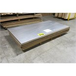LOT OF COATED, 4' X 8', SHEETS OF COATED PLYWOOD