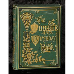 Lot 93 - Queen Victoria personally owned and used, Jubilee Birthday book 1887 A commemorative Jubilee
