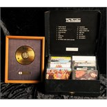 Lot 32 - The Beatles Japanese EMI CD sales award for The Beatles Past Masters Volume Two Presented to EMI