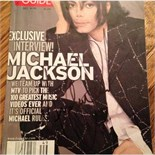 Signed Michael Jackson lot of 3 TV guides
