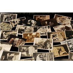 Lot 83 - Film: Collection of signed postcards and photographs of cinema organists, 1930s Including Dando,