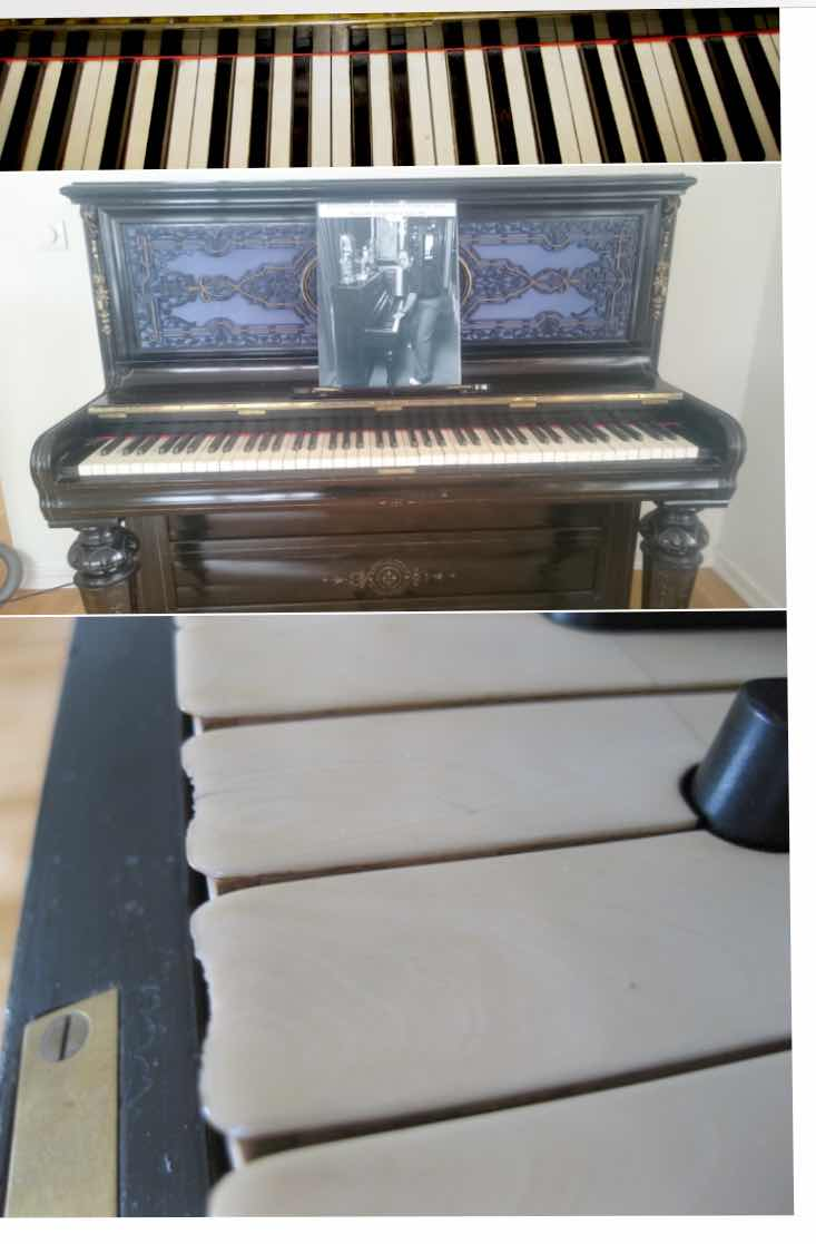 Lot 6 - Elton's Iconic Piano for sale. Sir Elton John's piano on which he wrote some of his most popular
