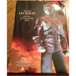Lot 53 - Signed Michael Jackson 1996 official calander