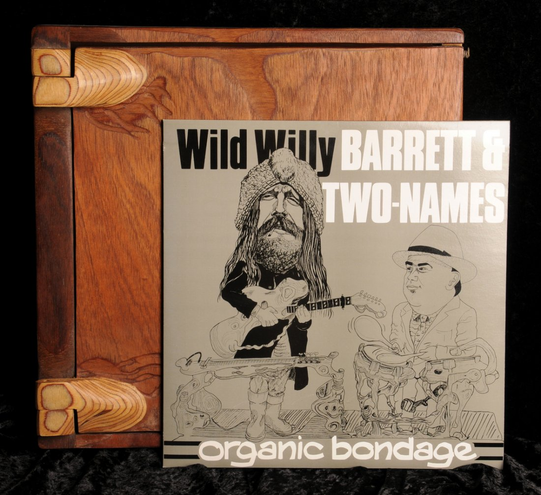 Lot 17 - Willy Barrett & Two Names, 'Organic Bondage' Limited Edition LP, 1986, collectors' edition in