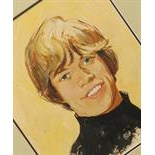 Lot 103 - collection of five portraits of Mick Jagger, Brian Jones, Bill Wyman, Keith Richards and Charlie
