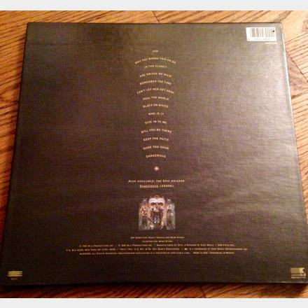 Lot 57 - Signed Michael Jackson 1991 first pressing 'Dangerous' album