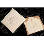 Lot 8 - Elvis Presley: Two autographs, 1960s, one in black fountain pen inscriped 'To Ben' and signed, the