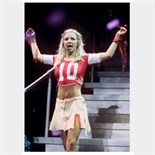Lot 68 - 'Britney Spears stage worn football jersey June 2000 concert, Maryland.
