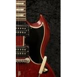 Link Wray: a stage-played guitar made by Gibson circa 1950s, 6-string prototype Gibson Model SG