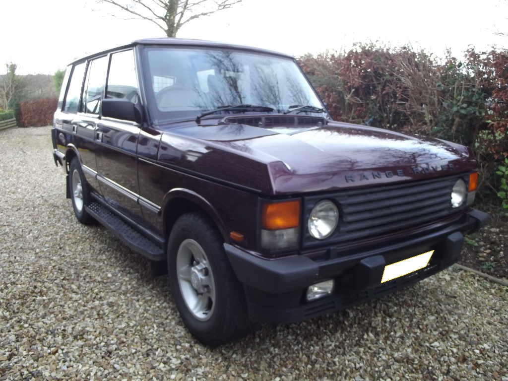 a 1994 land rover range rover classic registration number l950 gko montpellier red this classi. Black Bedroom Furniture Sets. Home Design Ideas