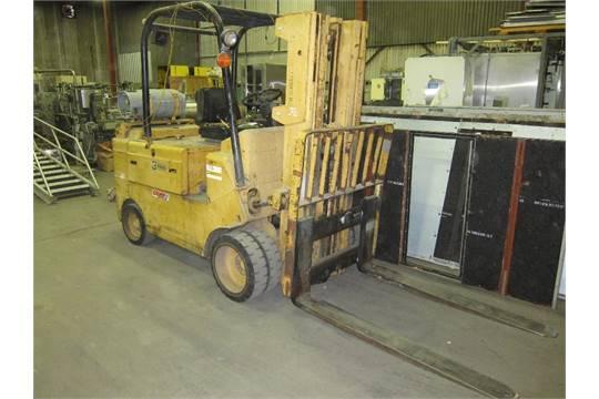1-Used Caterpillar 10,000lb LP forklift  Model: T100C  Truck