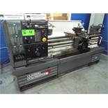 """CLAUSING COLCHESTER 15 ENGINE LATHE WITH 15"""" SWING OVER BED, 50"""" BETWEEN CENTERS, 2"""" SPINDLE BORE,"""
