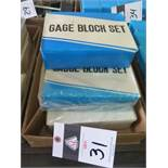 Chaun Gage Block Sets (5 - NEW) (SOLD AS-IS - NO WARRANTY)