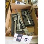 "6"" and 12"" Digital Calipers (4) (SOLD AS-IS - NO WARRANTY)"