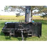 9' Accessories Unlimited dual auger 3pt snow blower, like new.