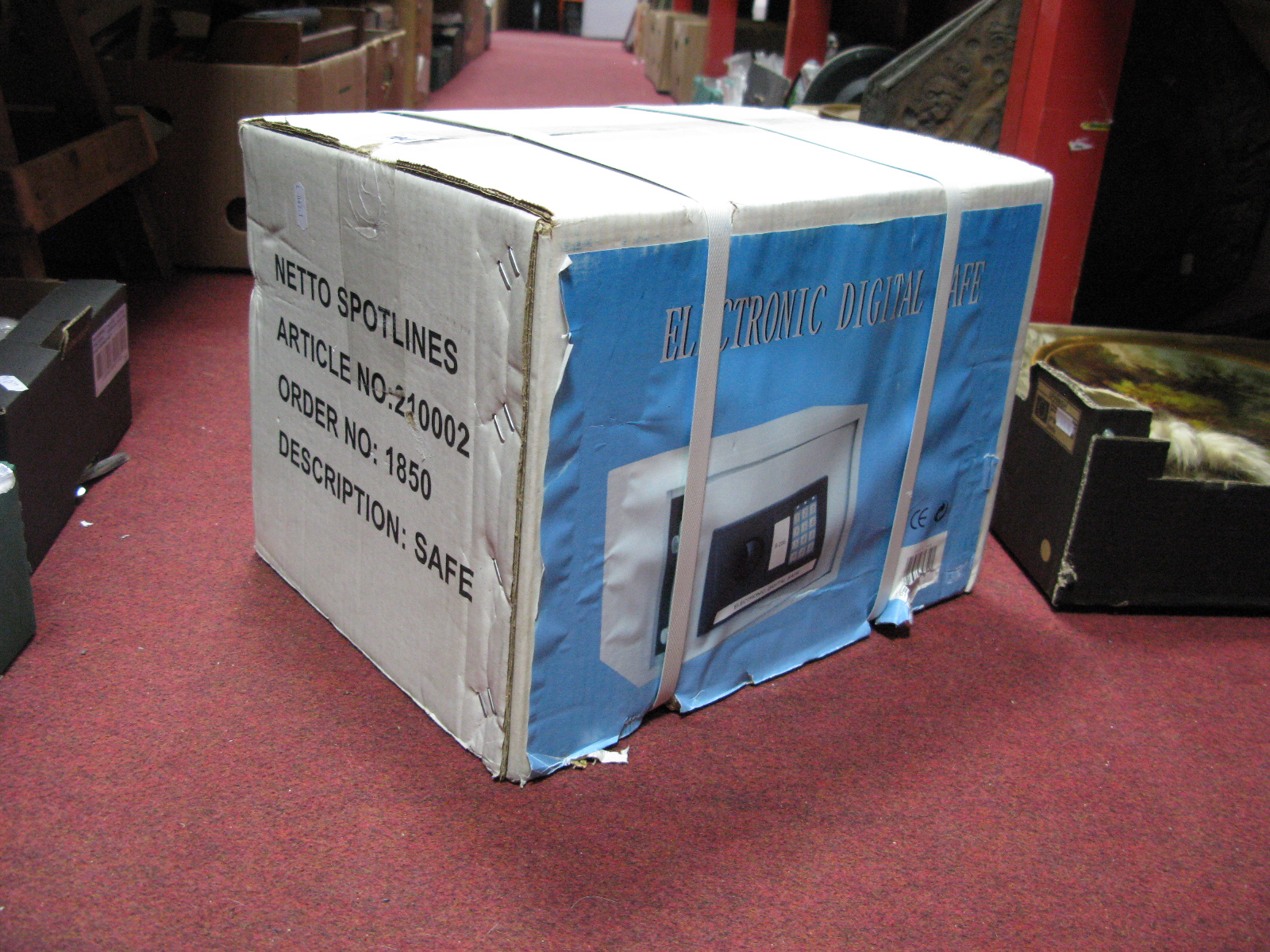 Lot 1041 - An Electronic Digital Safe, (boxed and unopened).