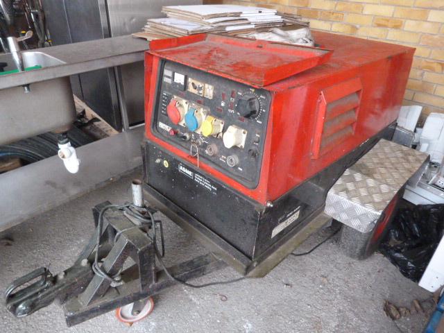 Lot 19 - Masa Asme Generator with Trailer