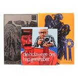 3 Bücher HAP Grieshaber Der Engel der Geschichte 4/1965, Stuttgart, manus presse, 1 von 500 Exp.,