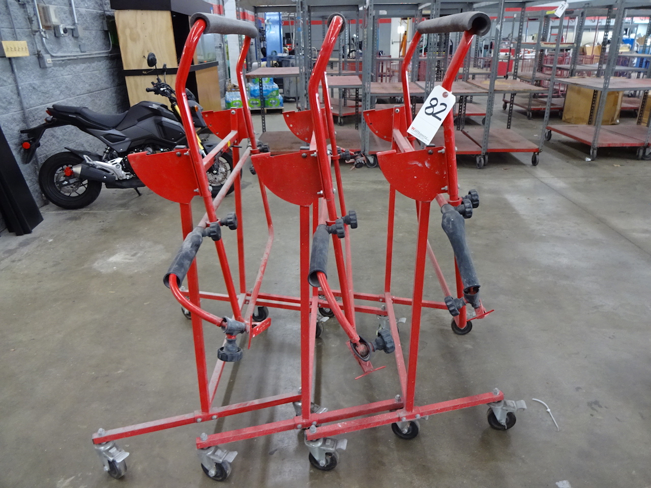 Lot 82 - LOT (3) 3M MODEL 02504 BODY PANEL STANDS