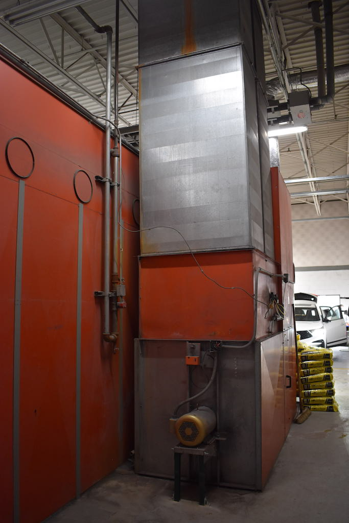 Lot 1 - BLOWTHERM MODEL EP-750 DOWNDRAFT HEATED DRIVE-IN SPRAY BOOTH: