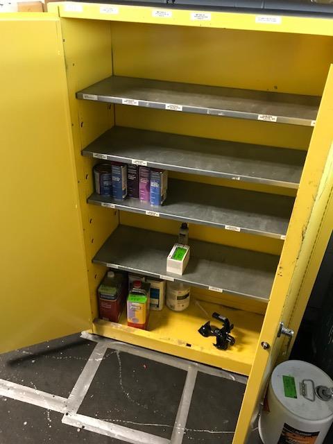 Lot 84 - Fireproof cabinet