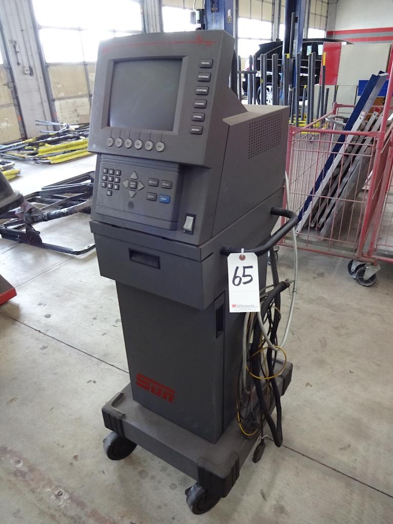 Lot 65 - SUN SST 1500 MODEL EE0S104 ENGINE ANALYZER: S/N 9942A3160