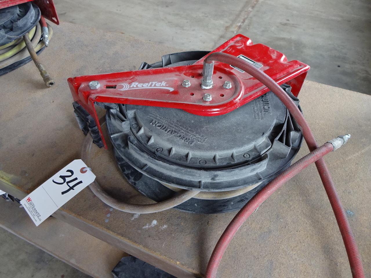 Lot 34 - REELCRAFT MODEL RT650-OLP HOSE REEL