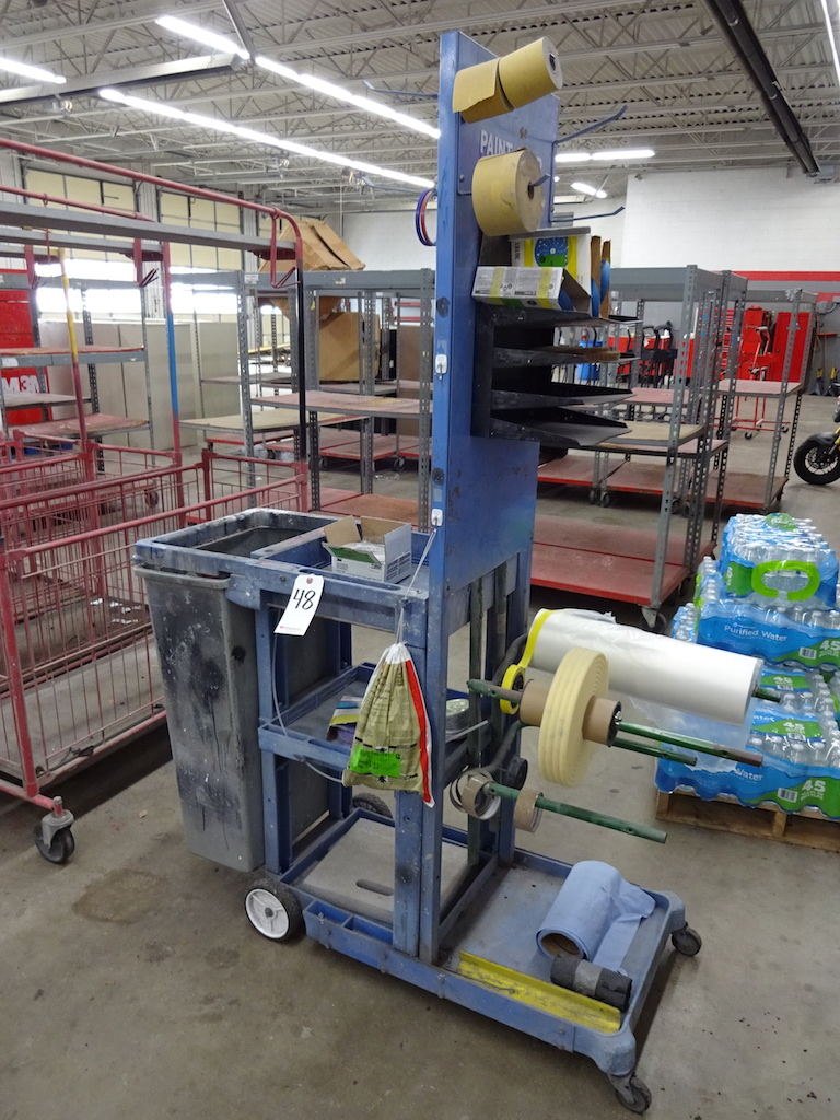Lot 48 - RUBBERMAID TRADEMASTER SHOP CART