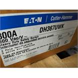 EATON 800 AMP STAINLESS STEEL, WATER-TIGHT H.D. SAFETY SWITCH DISCONNECT, 600 VOLT, CAT # DH365UWK